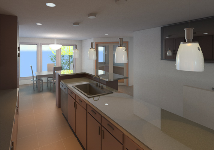 Dale and Dee Residence – Kitchen